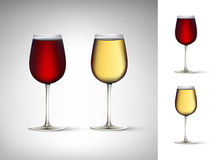 Vector wine illustration Royalty Free Stock Image