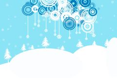 Vector Winter Stock Image
