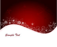 Vector winter background stock photo