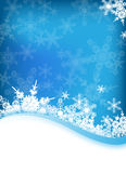 Vector winter background Royalty Free Stock Photos
