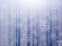 Vector winter background Royalty Free Stock Photo