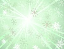 Vector winter background. eps10 Stock Image