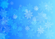 Vector winter background. Stock Images