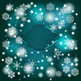 Vector Winter Background Royalty Free Stock Image