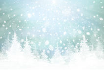 Vector winter background. Royalty Free Stock Photo