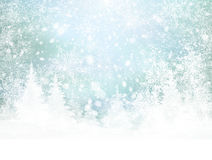 Vector winter background. Royalty Free Stock Photography
