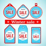 Vector. Winter sale Stock Photo