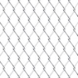 Vector wire fence royalty free illustration