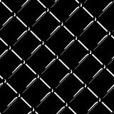 Vector wire mesh seamless pattern. Gray wire mesh isolated on black background. Stock Illustration