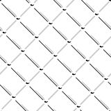 Vector wire mesh seamless pattern. Gray wire mesh isolated on white background. Stock Illustration