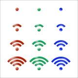 Vector Wireless Icon Stock Photo