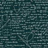 Vector wiskundig naadloos patroon Stock Foto
