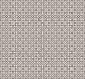 Vector wit en bruin patroon Stock Afbeelding