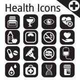 Vector wit medisch pictogram Royalty-vrije Stock Afbeelding