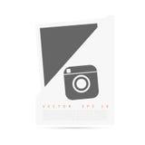 Vector witte Origamidocument banner voor u stock illustratie