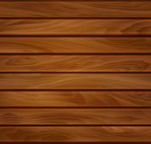 Vector wood background of brown wooden planks Stock Photo