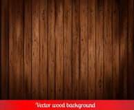 Vector wood background Stock Photos