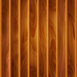 Vector wood background (texture) of light-brown wooden planks Royalty Free Stock Photography