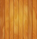 Vector wood background- texture of light brown wooden planks Royalty Free Stock Images