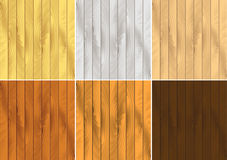 Vector Wood grain effects Royalty Free Stock Images