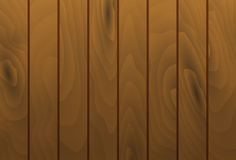 Vector wood grain texture planks. Wooden table surface. Stock Image