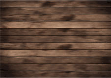 Vector wood plank background Royalty Free Stock Photography