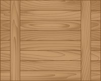 Vector wood plank brown Royalty Free Stock Photo