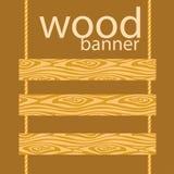 Vector wood planks Stock Photos