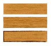 Vector wood planks Stock Photo