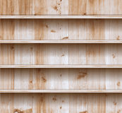 Vector wood shelf Royalty Free Stock Images