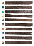 Vector wood texture background Stock Photo