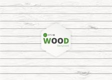 Vector wood texture. background old panels. Grunge retro vintage wooden texture, vector background Royalty Free Stock Photography
