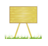 Vector wood or wooden board or table. Royalty Free Stock Photo