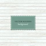 Vector wooden background royalty free illustration
