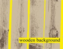 Vector wooden background Royalty Free Stock Photo