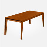 Vector wooden table Royalty Free Stock Image