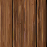 Vector wooden texture, brown colors. Stock Images