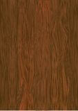 Vector wooden texture, dark wood. Vector EPS 10 Royalty Free Stock Image