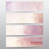 Vector Work, Abstract Banner for Design and Creative Work Stock Photos