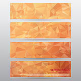 Vector Work, Abstract Modern Banner for Design Work Stock Images