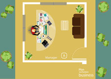 Vector works pace for business meetings and brainstorming. Analysis plan Concept and web banners, print media and mobile technolog. Y, tablet, laptop, diary and Royalty Free Stock Images