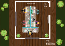 Vector works pace for business meetings and brainstorming. Analysis plan Concept. Vector works pace for business meetings and brainstorming. Analysis plan Stock Images