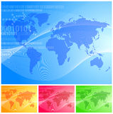 Vector world Stock Image