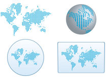 Vector of the world Stock Photo