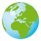 Vector world globe Stock Images