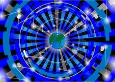 Vector - World globe  design concept Royalty Free Stock Photography