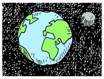 Vector world globe Stock Photos