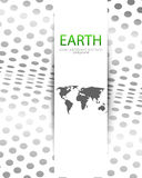 Vector world map background Royalty Free Stock Image
