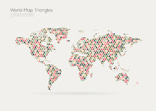 Vector world map design. vector illustration