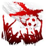 Vector worldcup Engeland stock illustratie